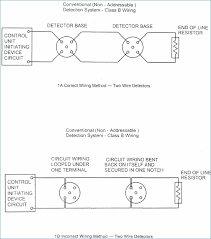 line resistor fire alarm diagram besides smoke detector wiring EOL Resistor fire alarm circuit class a fire alarm wiring class a fire alarm rh 144 202 61