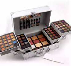high quality miss rose makeup set professional cosmetic case makeup kit eye shadow blush mirror concealer case suitcases