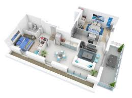 Modern  Bedroom House Free Design Plans  Houses - Three bedroom apartments denver