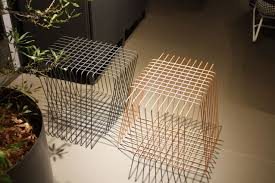 Wire furniture Dollhouse Miniature Homedit Wire Furniture Accents Shape Spaces In Unexpected Ways