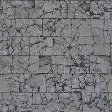 cobblestone floor texture. Modren Texture Seamless Damaged Pavement To Cobblestone Floor Texture