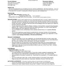 Tailor Resume Sample Good Examples] Sample Usa Resume Templates with Resume  Examples For Jobs With