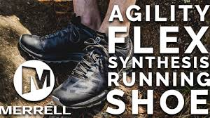 Merrell Agility Synthesis Flex Trail Running Shoes - YouTube
