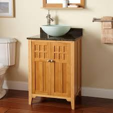 Bamboo Bathroom Cabinets 24 Betong Bamboo Vessel Sink Vanity Bathroom