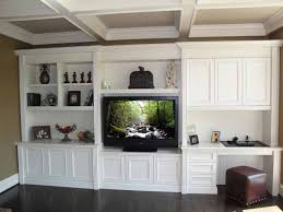 terrific wall unit with built in desk wall