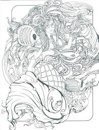 Printable Mermaid Coloring Pages E3669 Little Mermaid Coloring Games