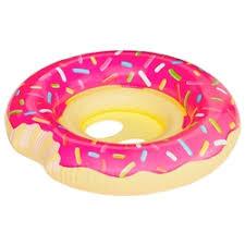 «<b>Круг надувной детский</b> BigMouth Pink Donut BMLF-0002 ...