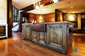 Rustic kitchen island table Wood Donnerlawfirmcom Country Rustic Kitchen Island Furniture Designs