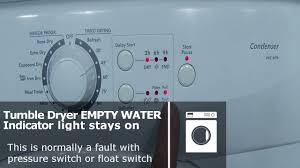 Bosch Tumble Dryer Filter Light Keeps Coming On Hoover Candy Tumble Dryer Empty Water Indicator Flashing Runs For A Few Seconds Then Stops