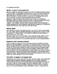 solution agile supply chain zara s case study analysis studypool agile supply chain zara s case studyanalysisgalin zhelyazkovdesign manufacture engineering management strathclyde university glasgow email