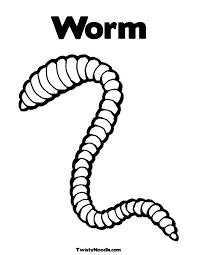 Small Picture Printable Worms Coloring SheetsWormsPrintable Coloring Pages
