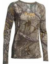 under armour 4 0 base layer womens. under armour women\u0027s ua early season base layer shirt long sleeve polyester realtree xtra camo small 4 0 womens