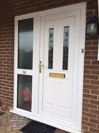 replacement windows and doors upvc front door with side panel simple design decor