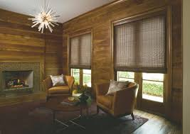 Home Decoration Natural Bamboo Shades For Living Room With Wooden Extraordinary Living Room Shades Decor