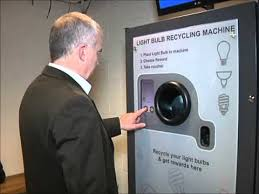 Reverse Vending Machine Uk Simple Reverse Vending Recycling Machine For Domestic Light Bulbs YouTube