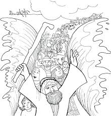 Moses Coloring Pages For Preschoolers Printable Coloring Pages For