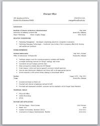 Examples Of College Student Resumes | Resume Examples And Free