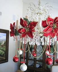 chandelier decorations use the flower heads from your fl stems as part of your chandelier