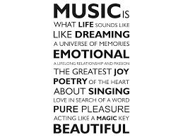 Sprüche über Musik Englisch Italiaansinschoonhoven