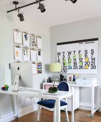 home office designs wooden. White Furniture And Wall Interior Color Decor For Small Home Office Design With Black Ceiling Track Lighting Ideas Wooden Desk Wheels Designs H