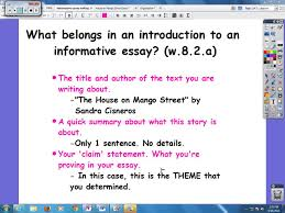 middle school informative essay introductions  middle school informative essay introductions