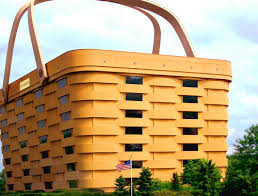 Longaberger Building (Ohio, USA) A picnic basket for a kind-hearted giant.