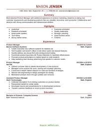Product Management Resume Examples Good Product Development Cv Product Management Resume Berathen Com 2