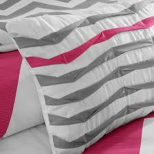 comforter set pink duvet style dorm room ideas