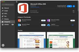 Microsoft Office 365 Apps Are Now Available In The Mac App