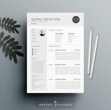 Resume Interesting Resume Formats 3 Creative Market Red Resume ...