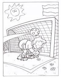 Voetbal Kleurplaat Animaatjesnl