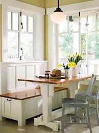 Sumptuous Small Kitchen Nook Sunny Breakfast MyHomeIdeas Com