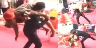 Nigerian Pastor Heals A Cripple By 'Smack-Down' Like In Wrestling (Video) »  FOTNEWS