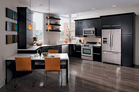 dark kitchen cabinets. 17 Flooring Options For Dark Kitchen Cabinets