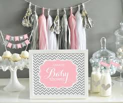 unique pink and grey baby shower decorations 66 with additional the best baby shower with