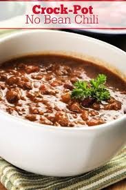 crock pot no bean chili crock pot las