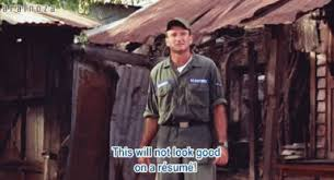 Image result for meme robin williams resume good morning vietnam gif