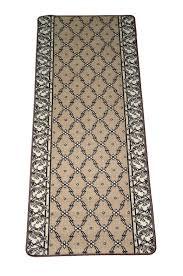 rug on carpet in hallway. Amazon.com: Trellis Beige Carpet Rug Hallway Runner 5\u0027: Industrial \u0026 Scientific On In