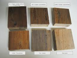 Different Techniques For Aging New Wood Wood Stain Colors