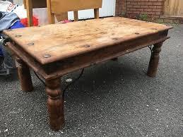 william shep hardwood coffee table