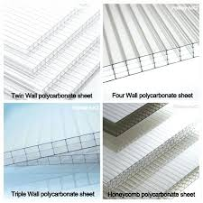 twin wall polycarbonate sheets construction materials sheet new plastic roofing materials double wall polycarbonate panels
