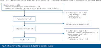 Conceptual Flow Chart Figure 1 From Conceptual Framework For Personal Recovery In