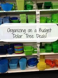 organizing on a budget