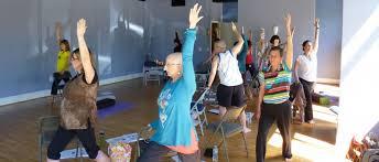 chair yoga for seniors. online chair yoga teacher training and certification program for seniors