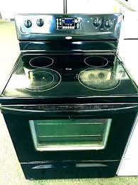 cleaning glass top stoves how to clean whirlpool glass top stove flat top stove best glass