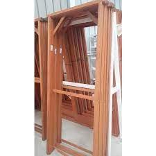 wooden door frame all types of wood