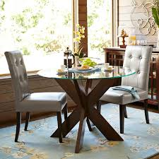 cool 42 round glass dining table set 18