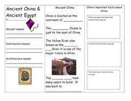 ancient chinese architecture worksheet. ancient china and egypt brochure chinese architecture worksheet