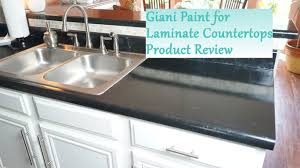 Formica Countertop Paint Painted Laminate Countertop Review Giani System Youtube