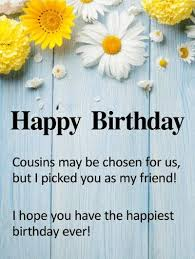 Happy Birthday Cousin Quotes 100 Happy Birthday Cousin Quotes with Images and Memes 26